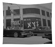 The Whiskey In Black And White Tapestry
