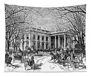 The White House, 1877 Tapestry
