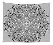The White Mandala No. 4 Tapestry