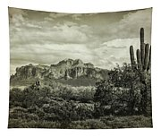 The Wild West Of The Superstitions  Tapestry