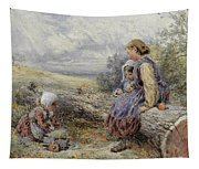 The Woodcutter's Children Tapestry