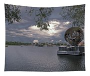 The World Goes Round Tapestry
