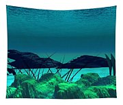 The Wreck Diving The Reef Series Tapestry