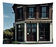 The Wright Cycle Company - Dayton Ohio Tapestry
