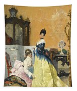 The Yellow Dress Tapestry