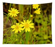 Thee Yellow Smiles  Tapestry