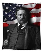 Theodore Roosevelt 26th President Of The United States Tapestry