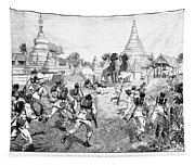 Third Burmese War, 1885 Tapestry