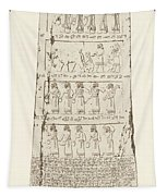 Third Side Of Obelisk, Illustration From Monuments Of Nineveh Tapestry