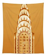 Chrysler Building At Sunset Tapestry