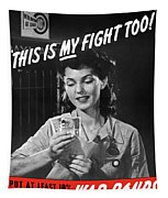 This Is My Fight Too - Ww2 Tapestry