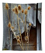 Thistle And Wood Tapestry