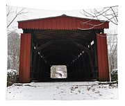 Thomas Mill Road Covered Bridge Tapestry