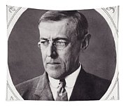 Thomas Woodrow Wilson, 1856 To 1924 Tapestry