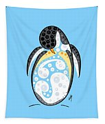 Thoughts And Colors Series Penguin Tapestry