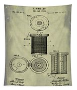 Thread Spool Patent 1877 Weathered Tapestry