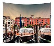 Three Boats Tapestry