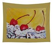 Three Cherries Tapestry