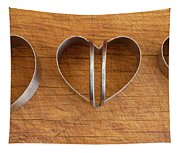 Three Heart Cutters Tapestry