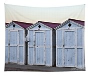 Three Modello Beach Cabanas Tapestry