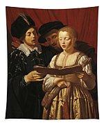 Three Singers Tapestry