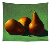 Three Yellow Pears Tapestry