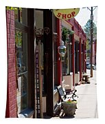 Thrift Shop And Sign In Manitou Springs Tapestry