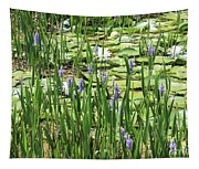 Through The Lily Pond Tapestry