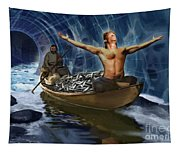Through The Rapids Tapestry