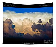 Thunderhead Cloud Color Poster Print Tapestry