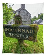 Tickets Sign Tapestry