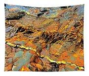 Tide Pool Ribbons Tapestry