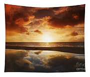 Tidepool At Sunset Tapestry