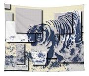 Tiger 5 Tapestry