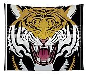 Tiger Head Tapestry