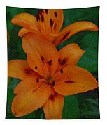 Tiger Lily  Tapestry
