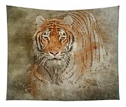 Tiger Splash Tapestry