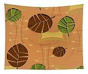 Tiki Lounge Wallpaper Pattern Tapestry