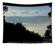 Timberholm Inn Morning View Stowe Vt Poster Tapestry