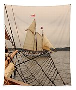 Timberwind Off The Bow Tapestry