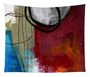 Time Between- Abstract Art Tapestry