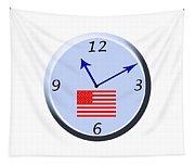 Time For Patriotism Tapestry
