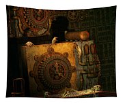 Time Passes Tapestry