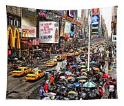 Times Square 1 Tapestry