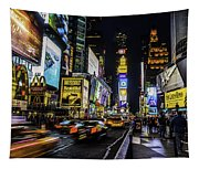 Times Square Traffic Tapestry