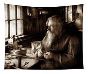 Tin Smith - Making Toys For Children - Sepia Tapestry