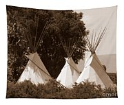 Tipis In Toppenish Tapestry