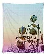 Tivoli Balloon Ride Tapestry