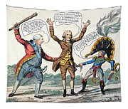 T.jefferson Cartoon, 1809 Tapestry