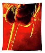 Tmnt 1   -  Raphael Smoky Red. Tapestry